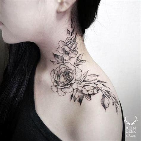 body tattoo neck 25 best places to get tattoos on your body