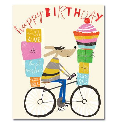 bicycle birthday card template bike birthday card karenza paperie