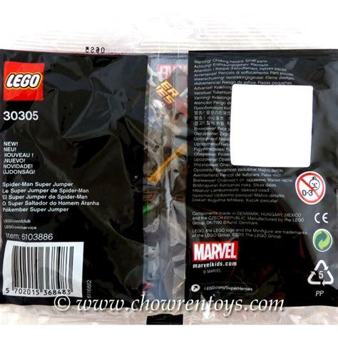 Jumper 30305 Lego Heroes Polybag lego heroes sets marvel 30305 spider