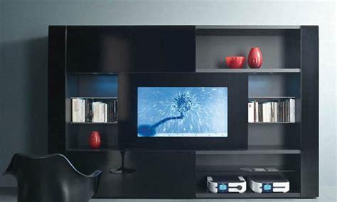 modern living room display cabinet shelving units modern