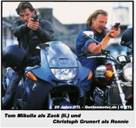 Serie Mit Motorrad Cops by 20 Jahre Rtl Rtl Und Seine Serien Quotenmeter De