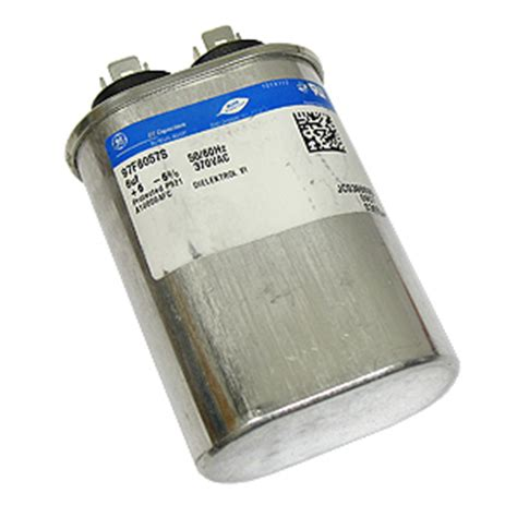 ge capacitor number electronic goldmine ge motor start capacitor 97f8057s 6uf 370vac