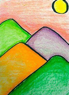Landscape Lesson For Kindergarten Kindergarten Landscape Idea