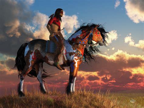 Red Paint by Warrior And War Horse By Deskridge On Deviantart