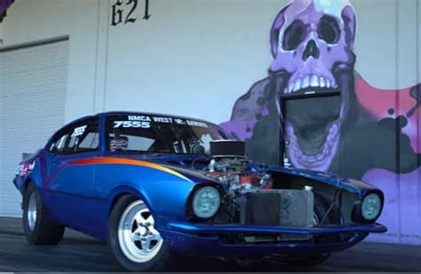 will it wheelie? 1970 ford maverick takes the hoonigan