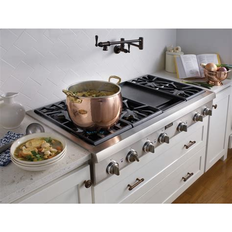 Thermador Cooktops Gas Thermador Professional Pcg486gd 48 Quot Pro Style Gas