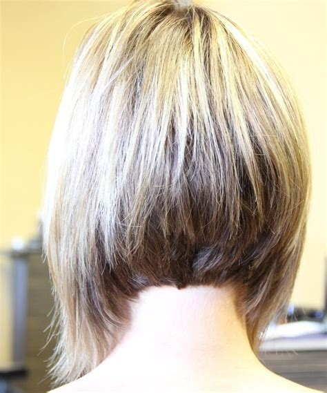 show the back of an a line hairstyle 12 trendy a line bob hairstyles easy short hair cuts