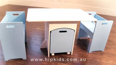 childrens table and chair set with storage hip table and chairs set w storage box