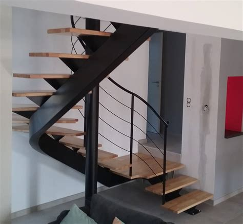 Escalier 2 4 Tournant by Escalier 2 4 Tournant Haut Limon Central Atelier Des