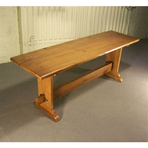 barn bench barn wood concord trestle bench cottage home 174