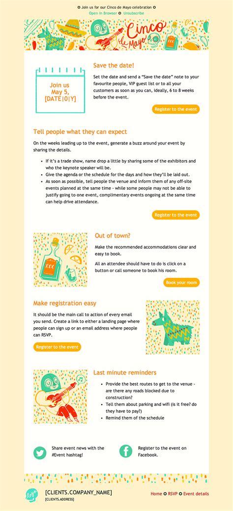 basic newsletter template cakemail
