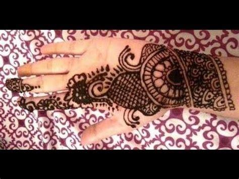 simple indian henna design easy mehndi design  palm youtube