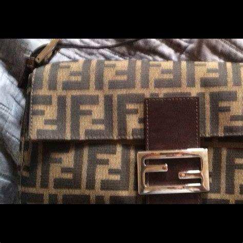 Fendi Mix Spot Hologram Bag by Fendi How To Identify A Fendi Baguette From Kristen
