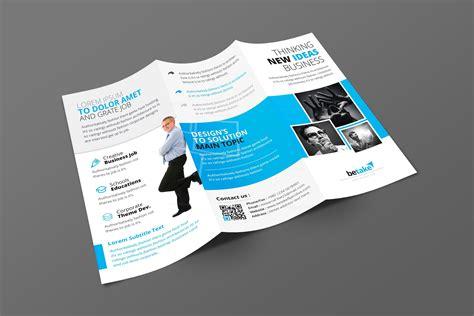 brochure templates buy zephyrus modern corporate tri fold brochure template