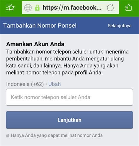buat akun facebook seluler cara buat akun facebook di browser android segala