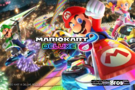 Mario Kart 8 Deluxe Giveaway - mario kart 8 deluxe review codebros