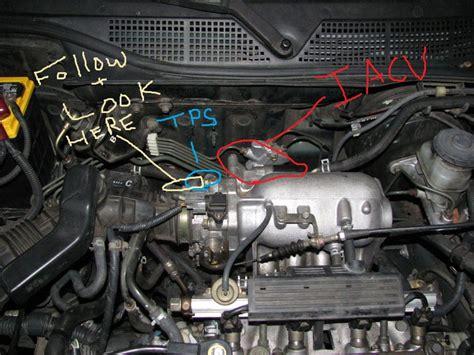 Iacv Mobil Honda Accord Civic Crv Oddesey 99 civic ex iacv issue honda tech