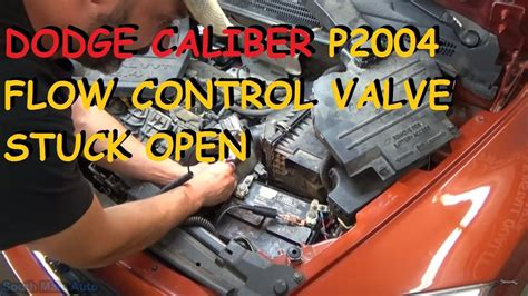 dodge caliber p intake manifold runner control stuck open youtube