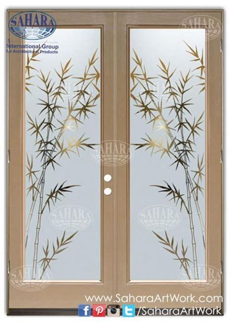 sandblast doors  windows design images