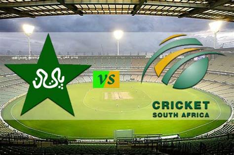 Records South Africa Pakistan Vs South Africa