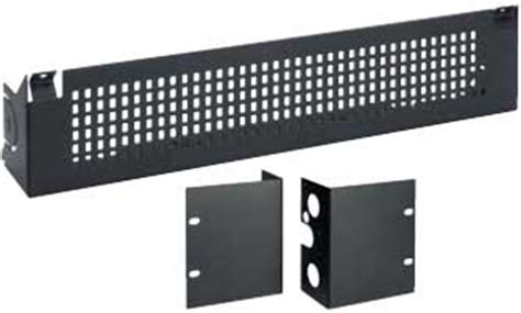Rack Mount Cover by Bogen Communications Rpkuti1 Rack Mount Security Cover For