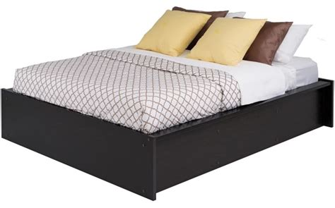 sturdy platform bed district sturdy queen size platform bed washed ebony