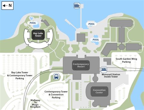 Disneys Yacht Club Hotel Floor Plan - bay lake tower at disney s contemporary resort