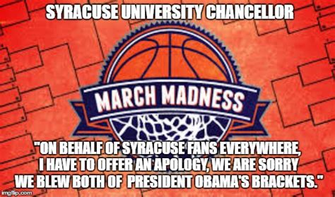 Syracuse Meme - final four imgflip
