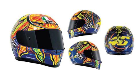 Helm Agv Continent Agv 5 Continents Valentino Helmets