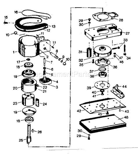 Craftsman Orbital Sander 875188270 Ereplacementparts Com