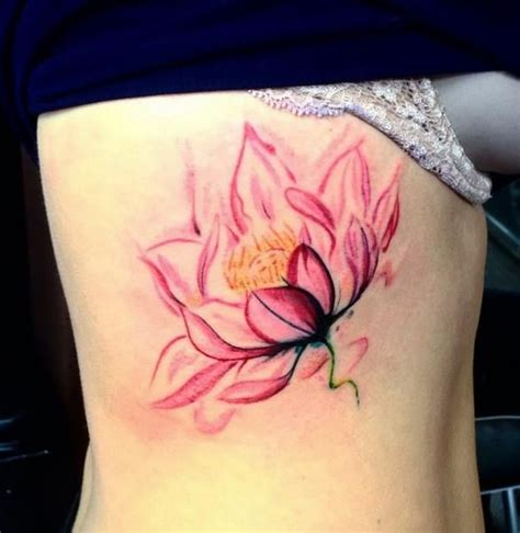 watercolor tattoos lotus 33 watercolor lotus designs amazing ideas