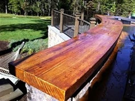 outdoor wood bar top ideas how to make your concrete bar top look like wood so doing this concrete