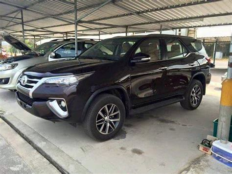 new car toyota fortuner new 2016 toyota fortuner suv this is it