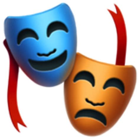 performing arts emoji (u+1f3ad)