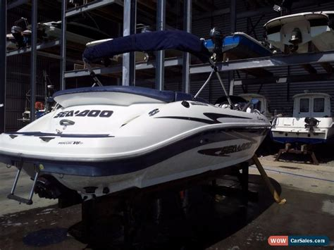 sea doo jet boat for sale ebay uk seadoo challenger 2000 jet boat for sale in united kingdom