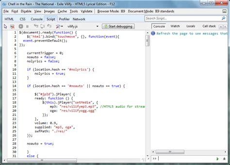 format html code javascript 3 breakthrough ways to visualize html5 dzone web dev