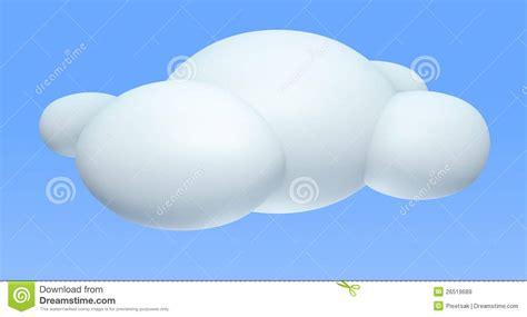 3d cloud 3d cloud royalty free stock images image 26519689