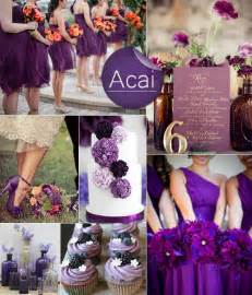 gallery for gt purple fall wedding themes