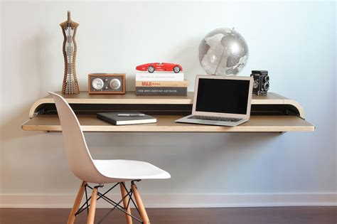 Wall Office Desk Modern Computer Desk Designs That Bring Style Into Your Home