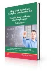 Help Desk Study Guide by Help Desk Technician Complete Certification Kit Book