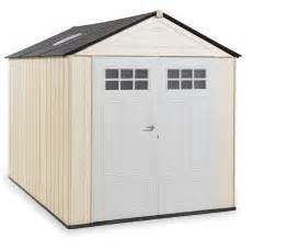 rubbermaid 174 1825260 outdoor resin storage shed 7 x