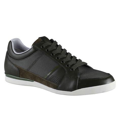 aldo sneakers mens aldo sneaker in black for khaki lyst