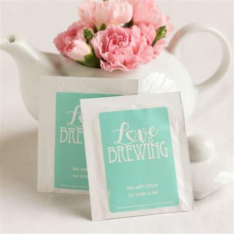 Wedding Favors Tea Bags by Personalized Wedding Tea Bag Favors