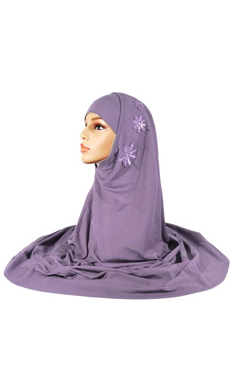 Amirah Purple purple 2 sequins al amirah
