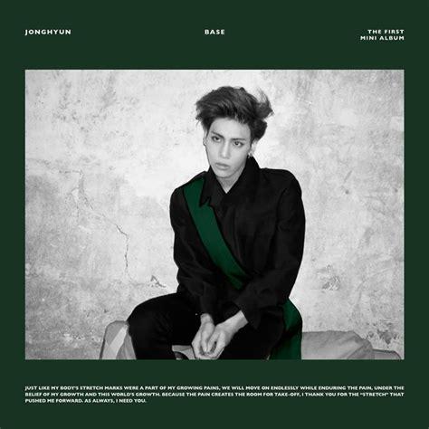 download mp3 full album kpop download mini album jonghyun the 1st mini album base