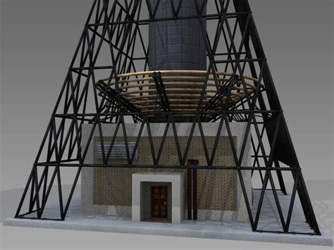 Tesla Coil Tower Tesla Coil Tower 3d Model