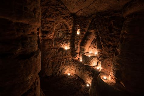700 year old cave rabbit hole leads to a secret 700 year old cave network built by knights templar bored panda