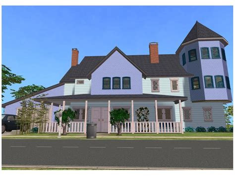 2 family house sims 2 blue family house by ramborocky on deviantart