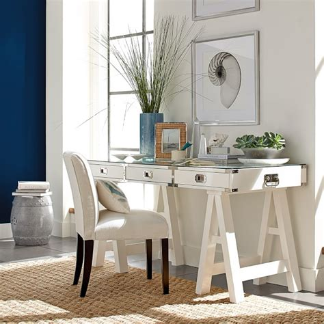 caign desk white williams sonoma