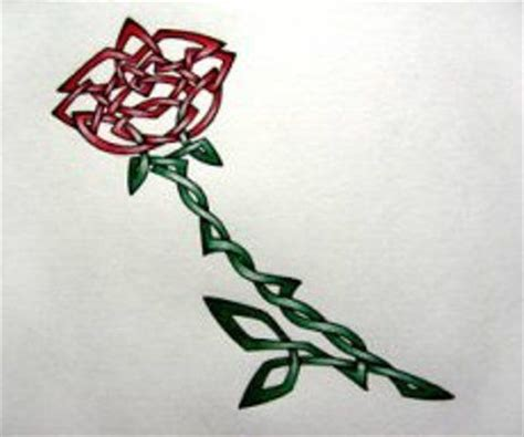celtic rose tattoo celtic celtic designs